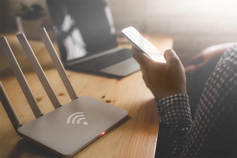 Wifi for communication