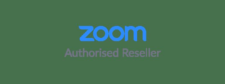 Zoom authorised reseller logo