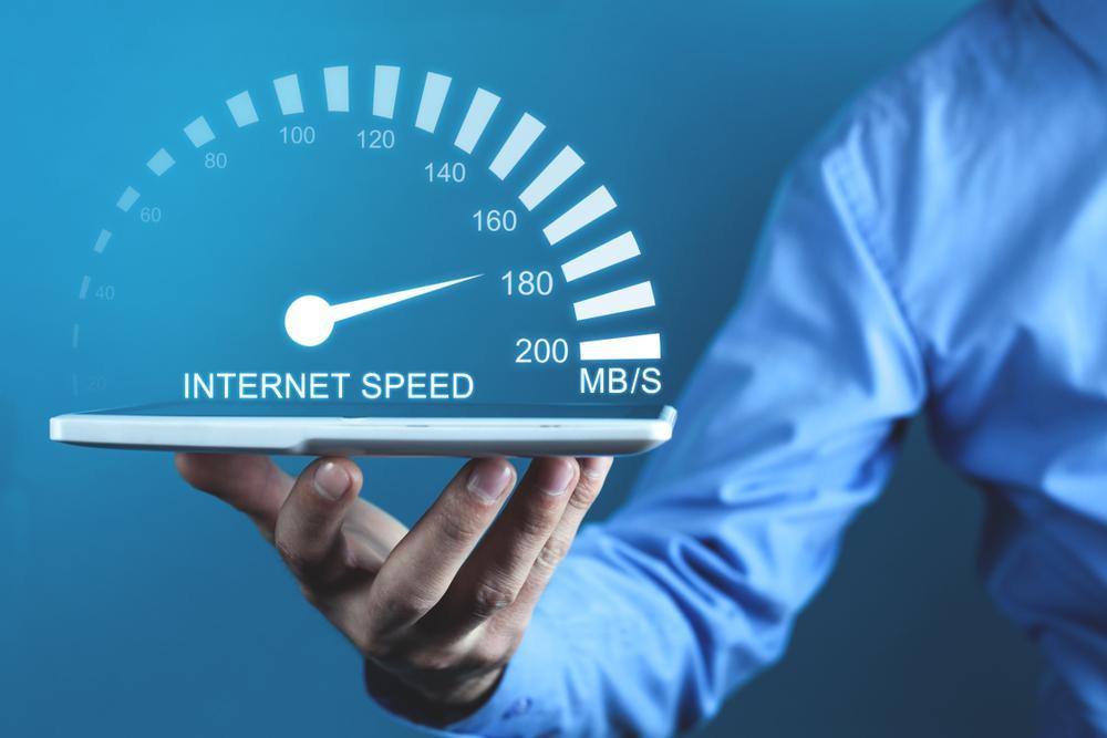 Internet speed visual